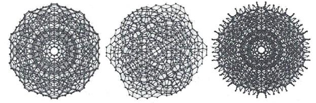 Гигантсские икосаэдры из молекул воды по М.Чаплину